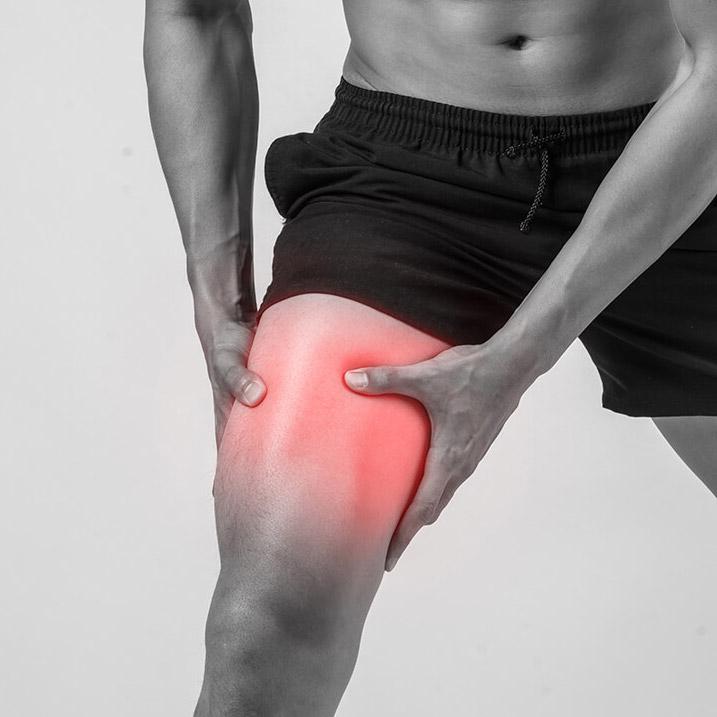 Rotura fibrilar en cuádriceps del deportista